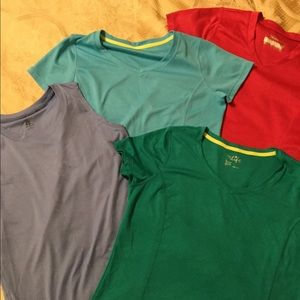 4 dry fit athletic tops